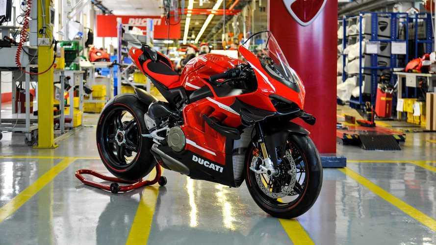 Ducati Superleggera V4 - Début de la production et des livraisons