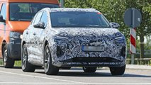 Audi Q4 E-Tron spied with production body