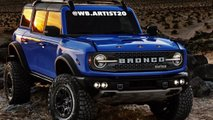 Ford Bronco Raptor neue Renderings