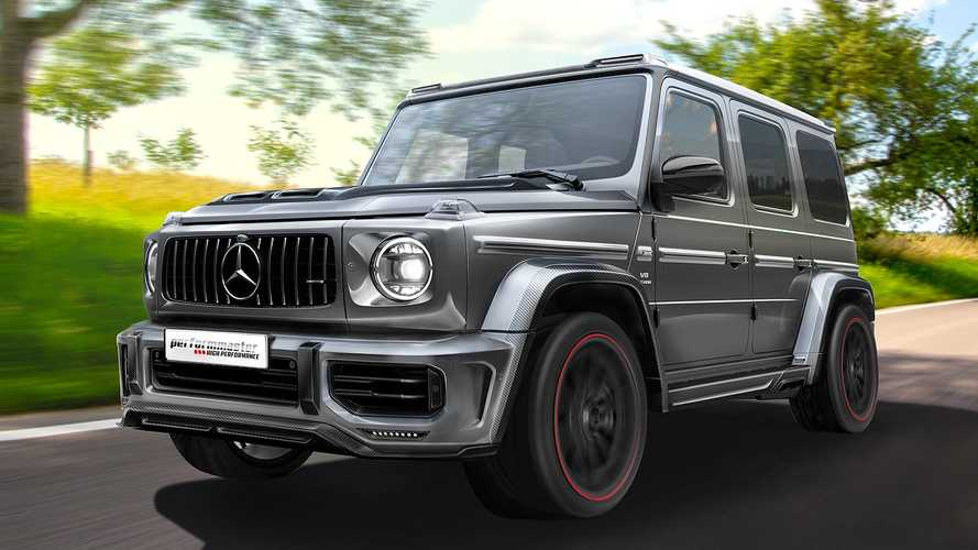 Performmaster Mercedes-AMG G 63 with AERSPHERE bodykit