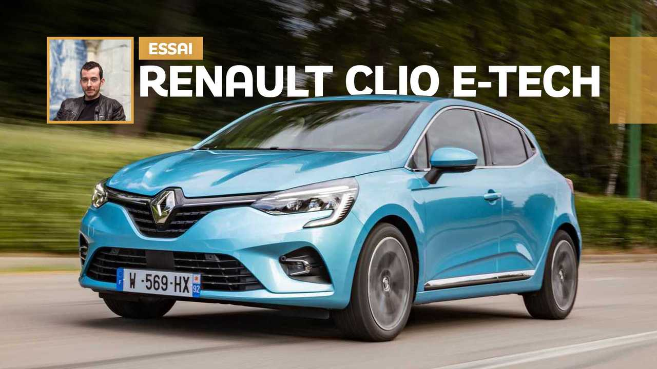 Essai Renault Clio E-Tech (2020)