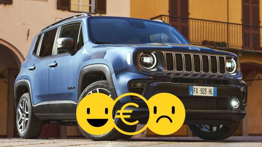 Promozione Jeep Renegade 1.6 Limited, perché conviene e perché no