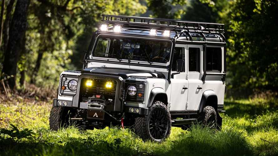 Would you pay £150,000 for this upgraded 1990 Land Rover Defender?