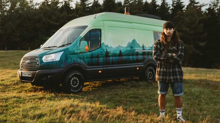 Behold the most charming camper van there ever was