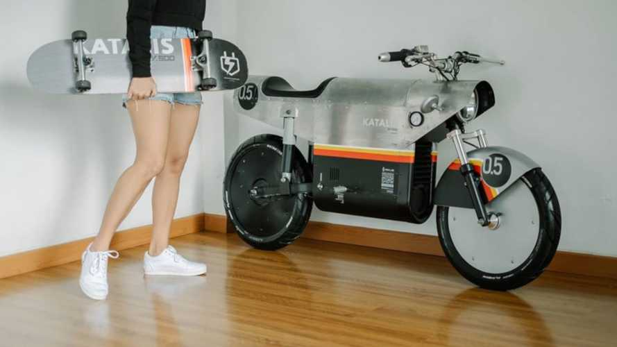 Katalis EV500 Electric Scooter Is Gunning For Your Dreams