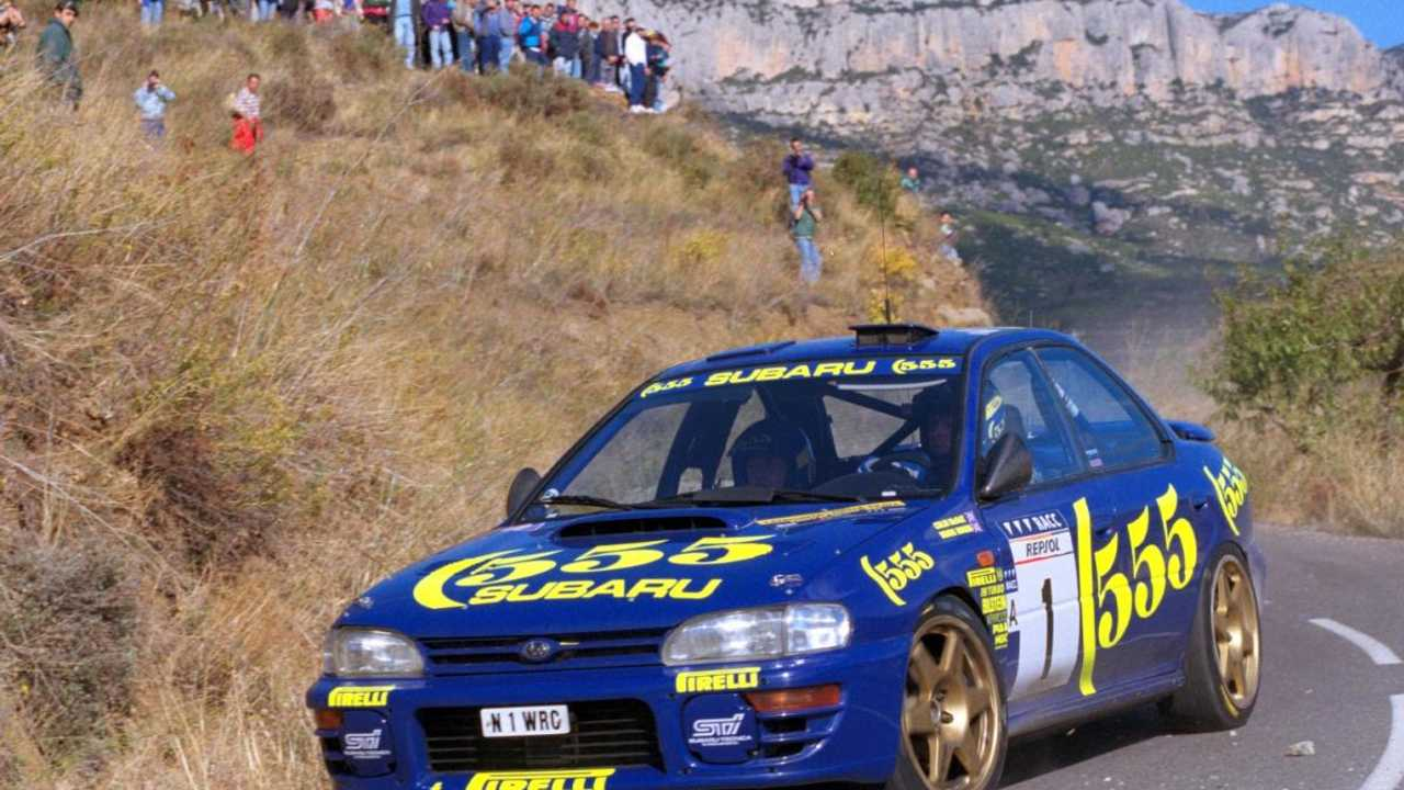Colin McRae Impreza to star at Wales Rally GB's Rally Village