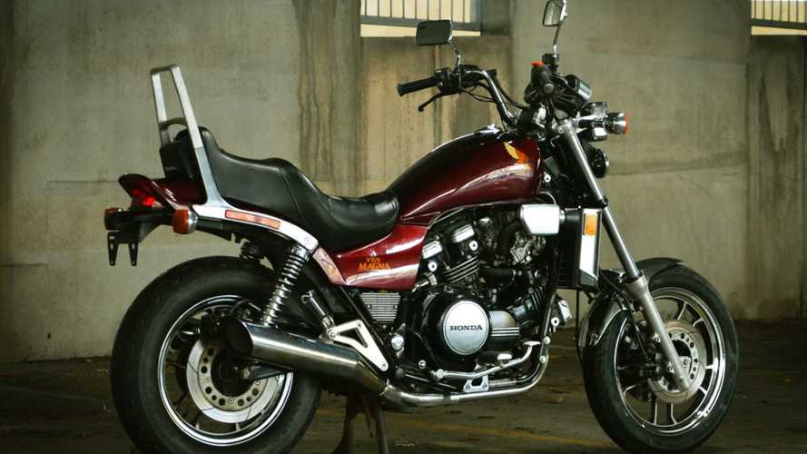 This 1984 Honda Magna V65 Offers Old-School V4 Muscle