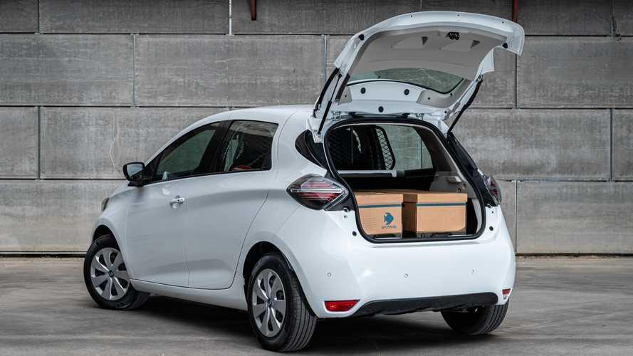 Renault Zoe ganha versão furgão com 500 km de autonomia
