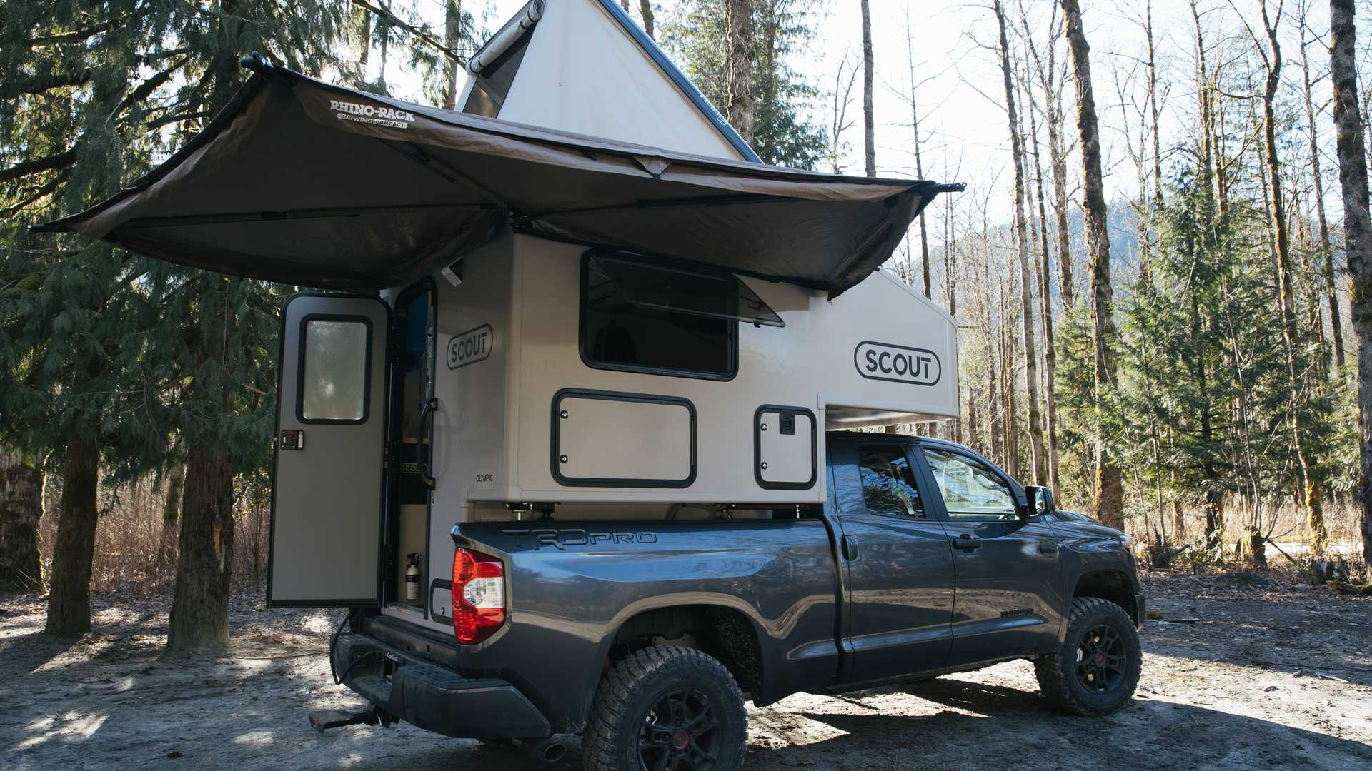 Scout Campers Launches With Minimalist Olympic Drop In Truck Shell