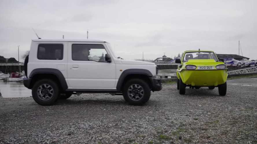 Suzuki Jimny als Amphibienfahrzeug