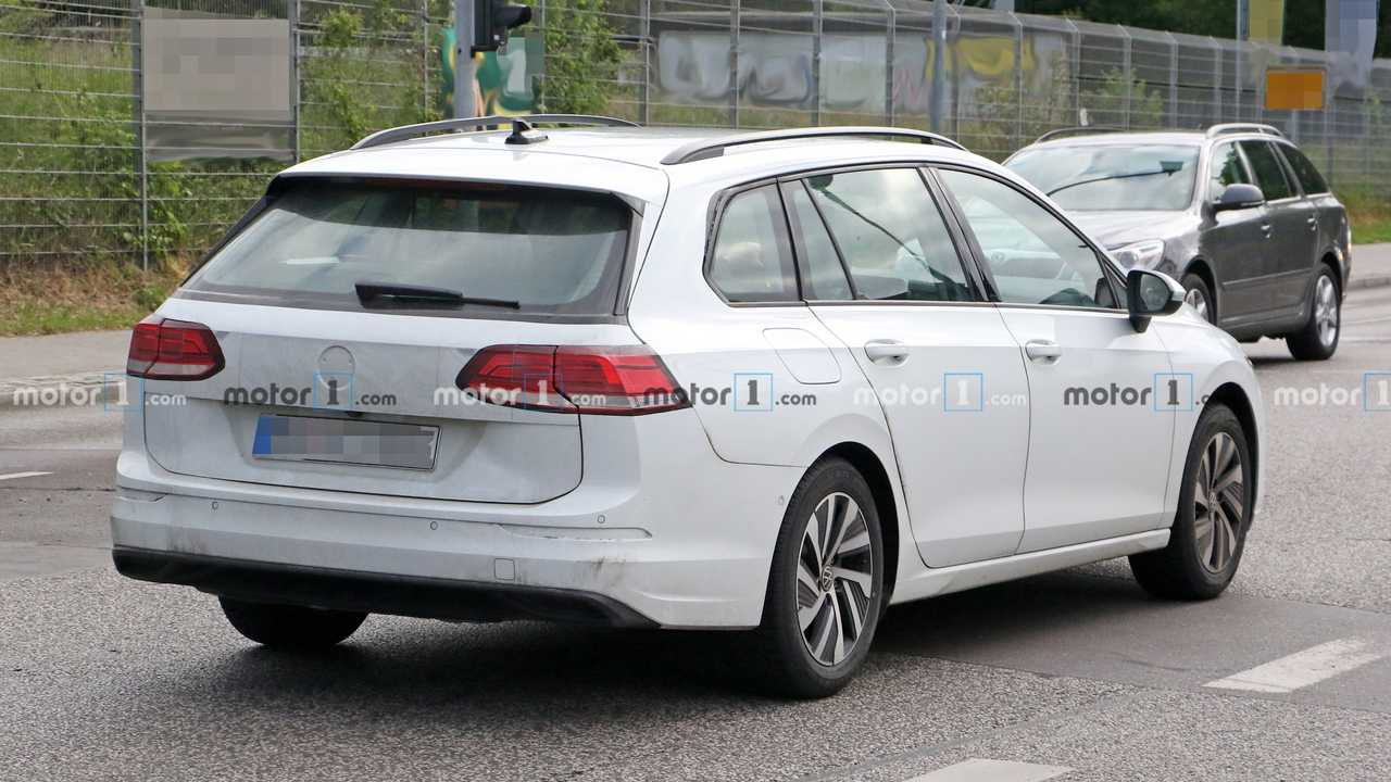 Volkswagen Golf Variant 2021, fotos espía