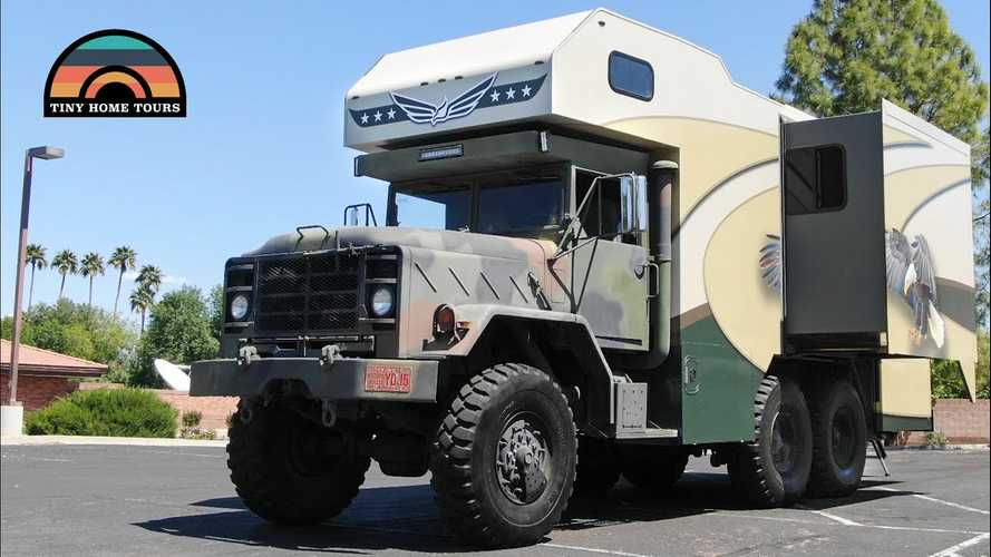 This 6x6 Military Rig Is Reborn As A Rad Off-Grid Overlander