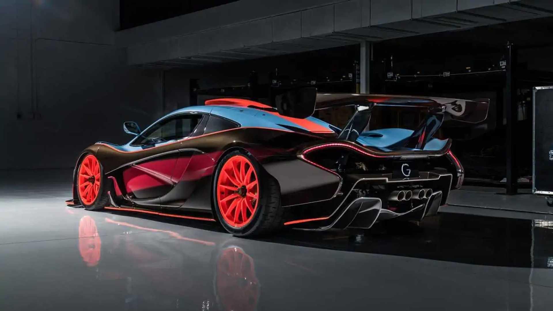 Lanzante McLaren P1 GTR-18 Gulf