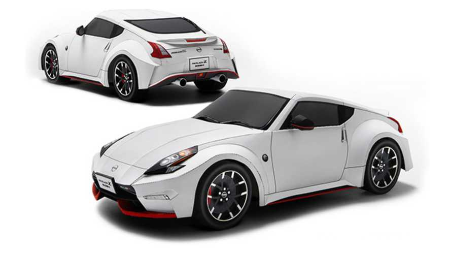 Build A Nissan 370Z From Paper While Waiting For The New 400Z