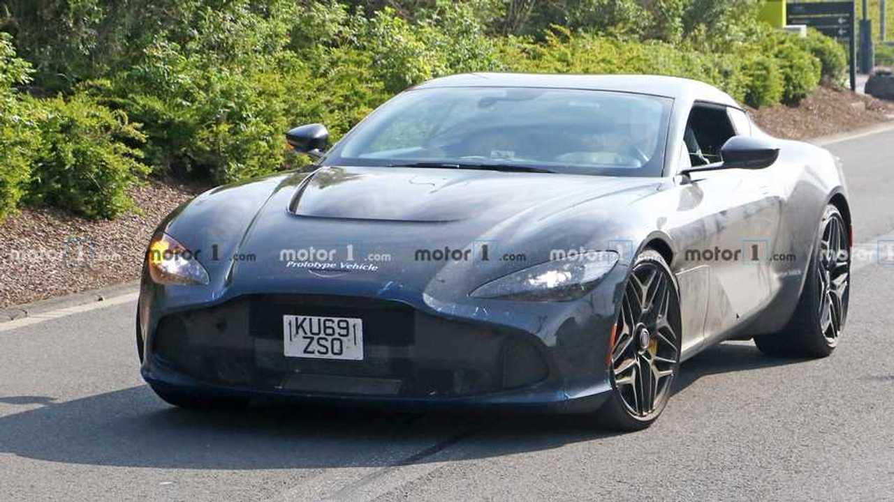 Aston Martin Zagato Spy Fotók