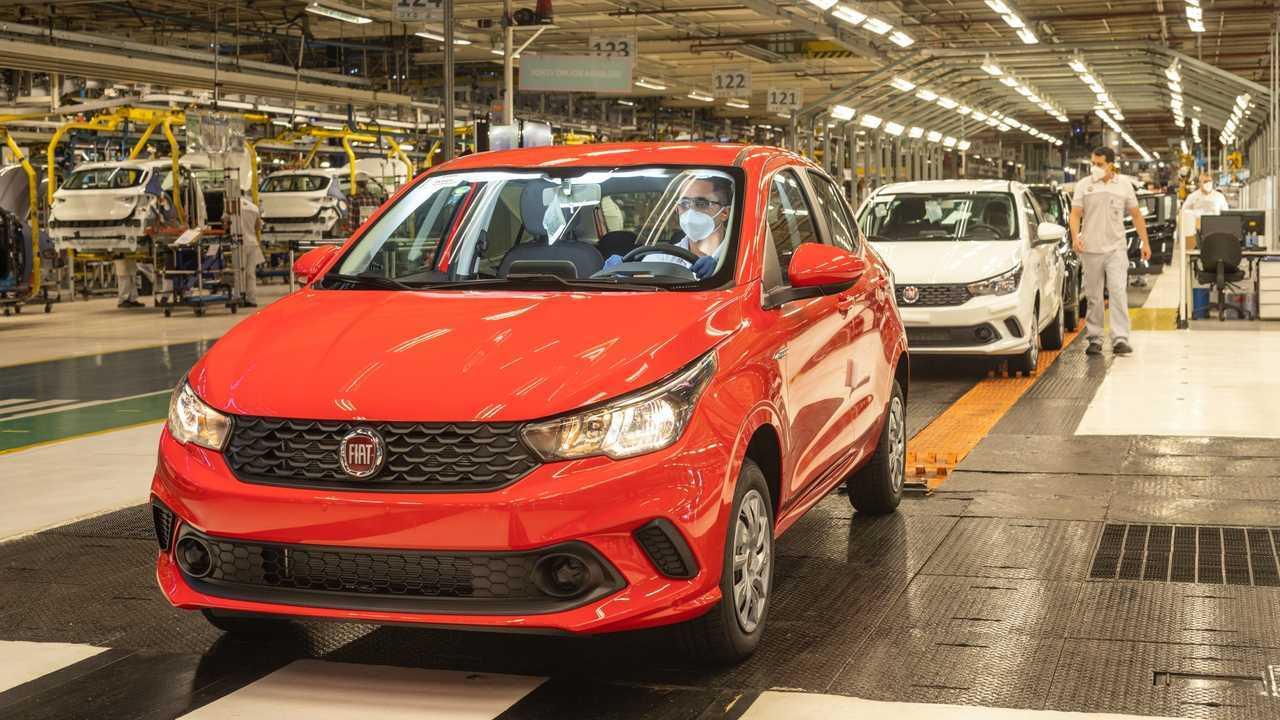 Fiat Argo - Fábrica Betim (MG)