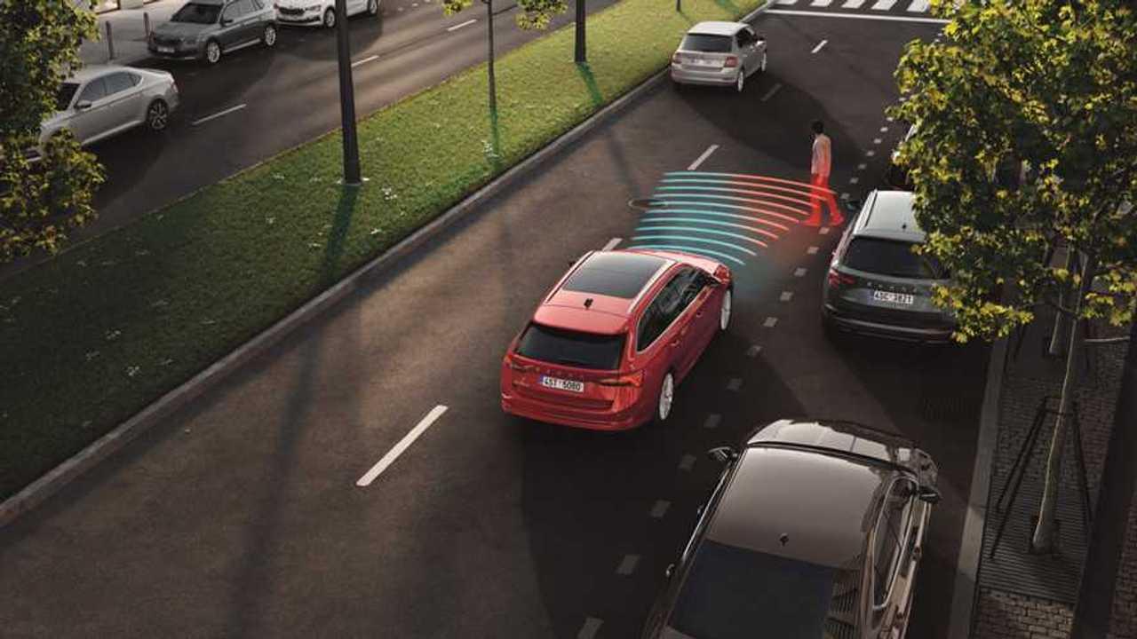 2020 Skoda Octavia safety systems