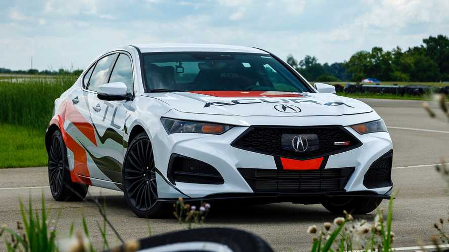 2021 Acura TLX Type S Power Figures Confirmed And They're Decent