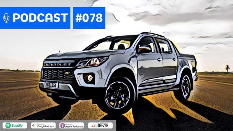 Motor1.com Podcast #78: Nova Chevrolet S10 abre a porteira de renovações das picapes