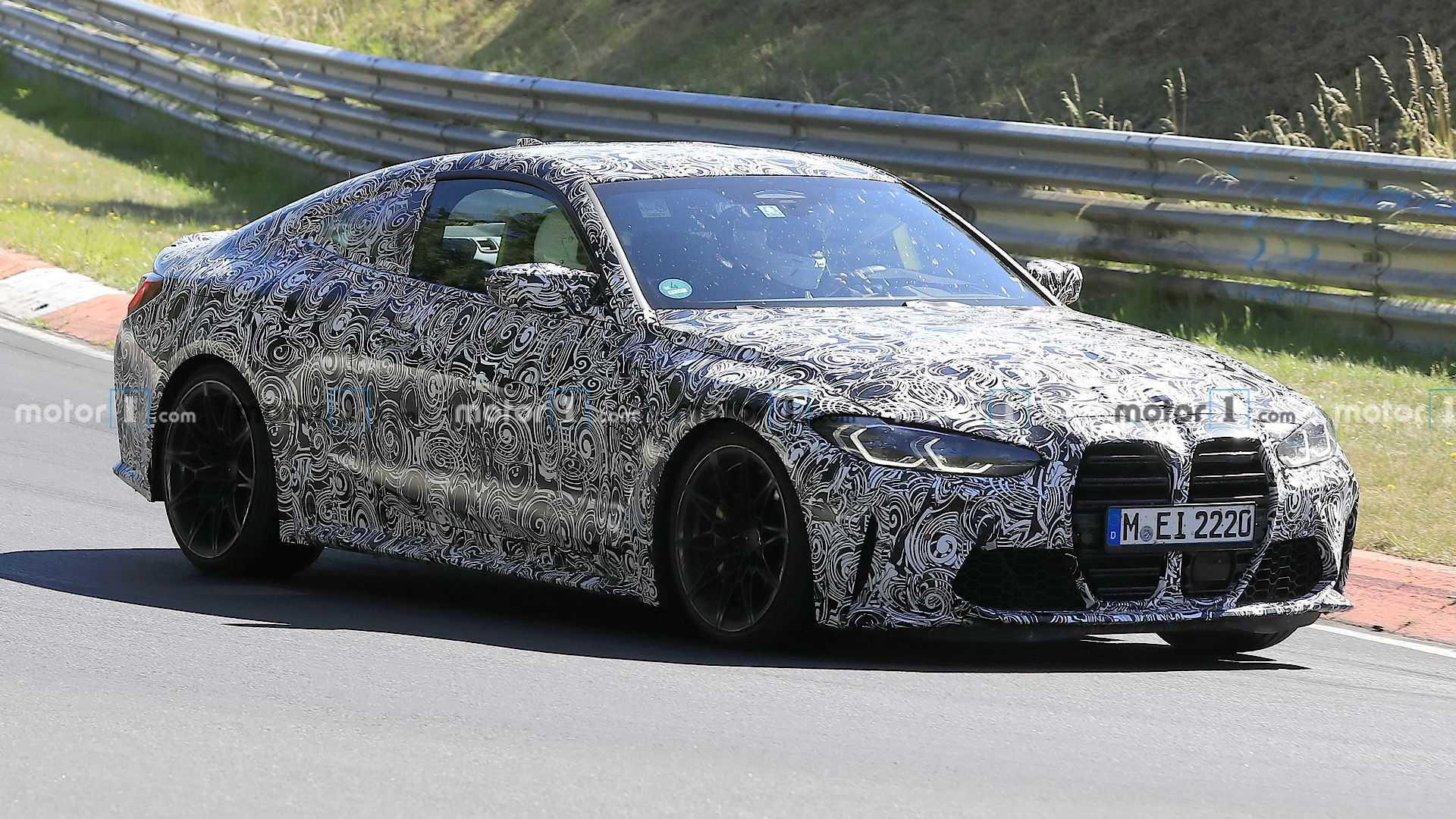 2020 - [BMW] M3/M4 - Page 18 Bmw-m4-spy-photos-front-3-4