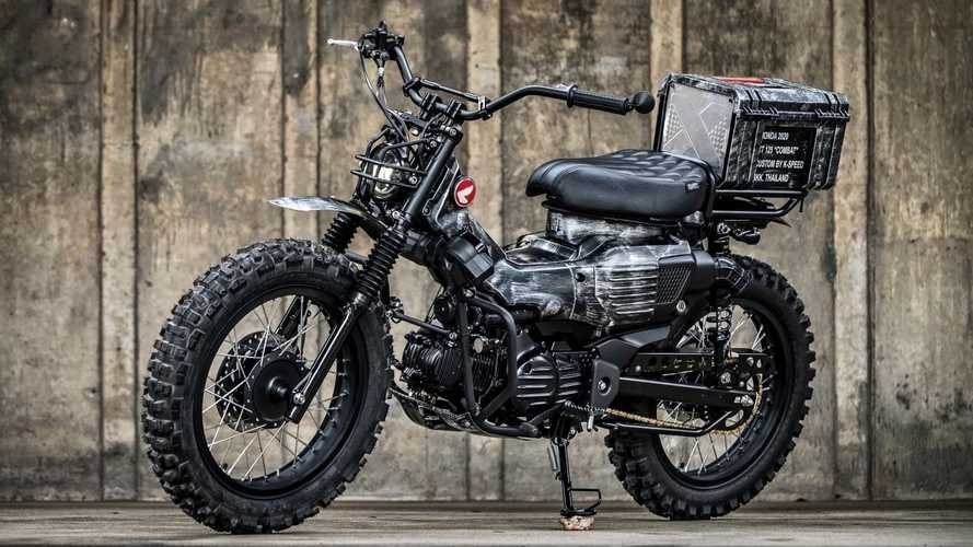 Thailand's K-Speed Strikes Again With Rugged Custom Honda CT125