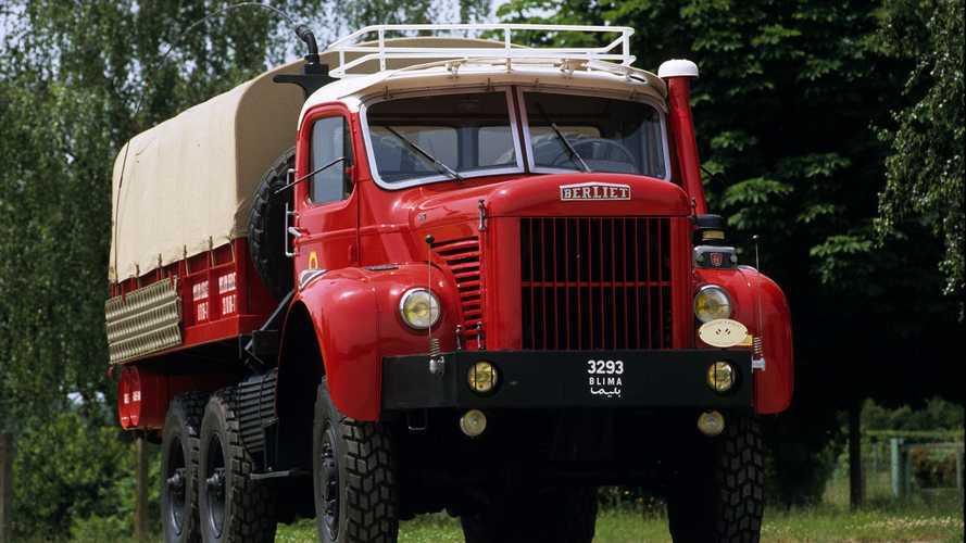 Berliet Gazelle, il camion del deserto