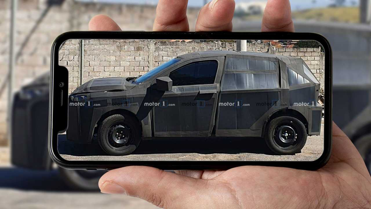 Fiat Argo SUV - Novos flagras