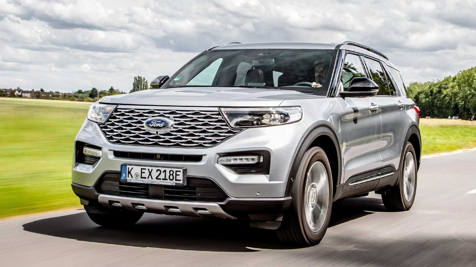 2020 The Ford Explorer Spy Shoot