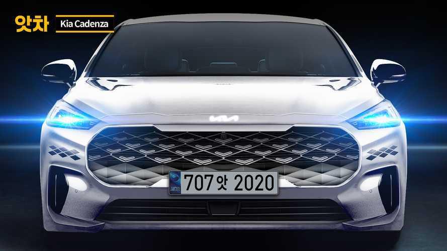 Next-gen Kia Cadenza Rendering With New Logo
