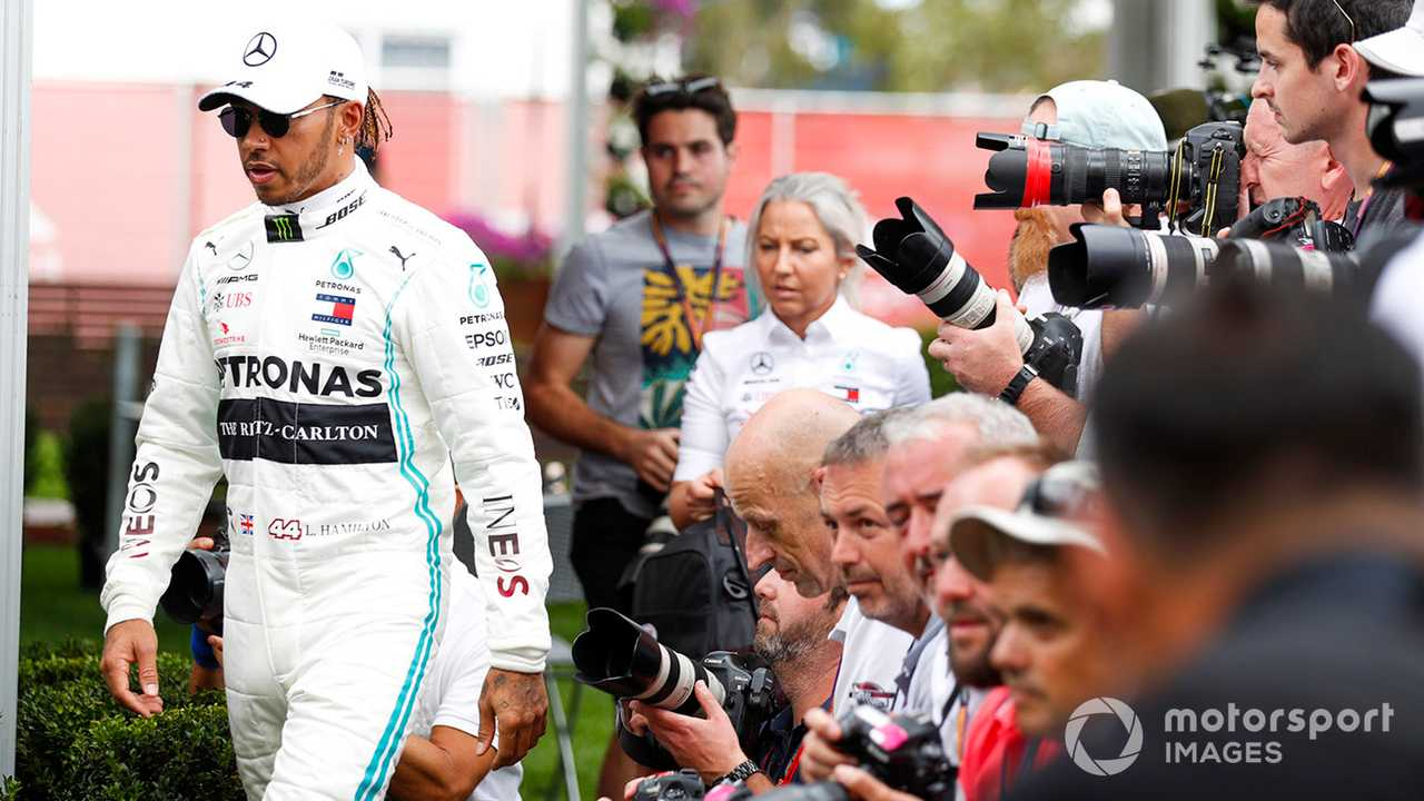 Lewis Hamilton at Australian GP 2020
