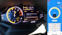 Lamborghini Huracan Performance Speed Runs
