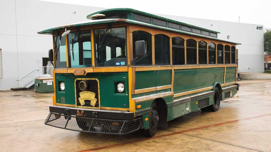 This retired 'Dillo' from Texas is the coolest retro bus you can buy
