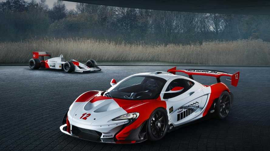 McLaren revives Ayrton Senna's MP4/4 livery for P1 GTR