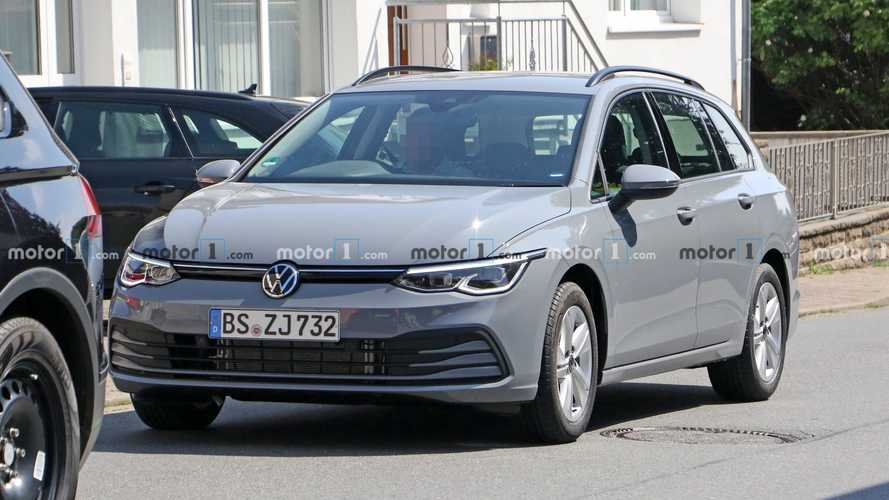VW Golf Variant (2020) auf neuen Erlkönigbildern