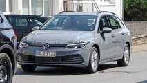 2021 VW Golf Variant new spy photos