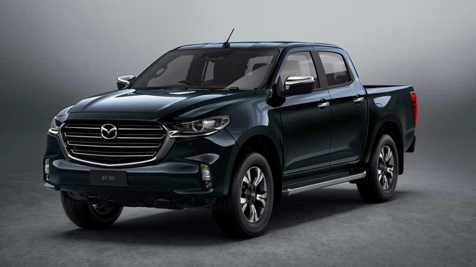 2021 Mazda BT-50 Debuts Sultry Kodo Design Atop Isuzu ...