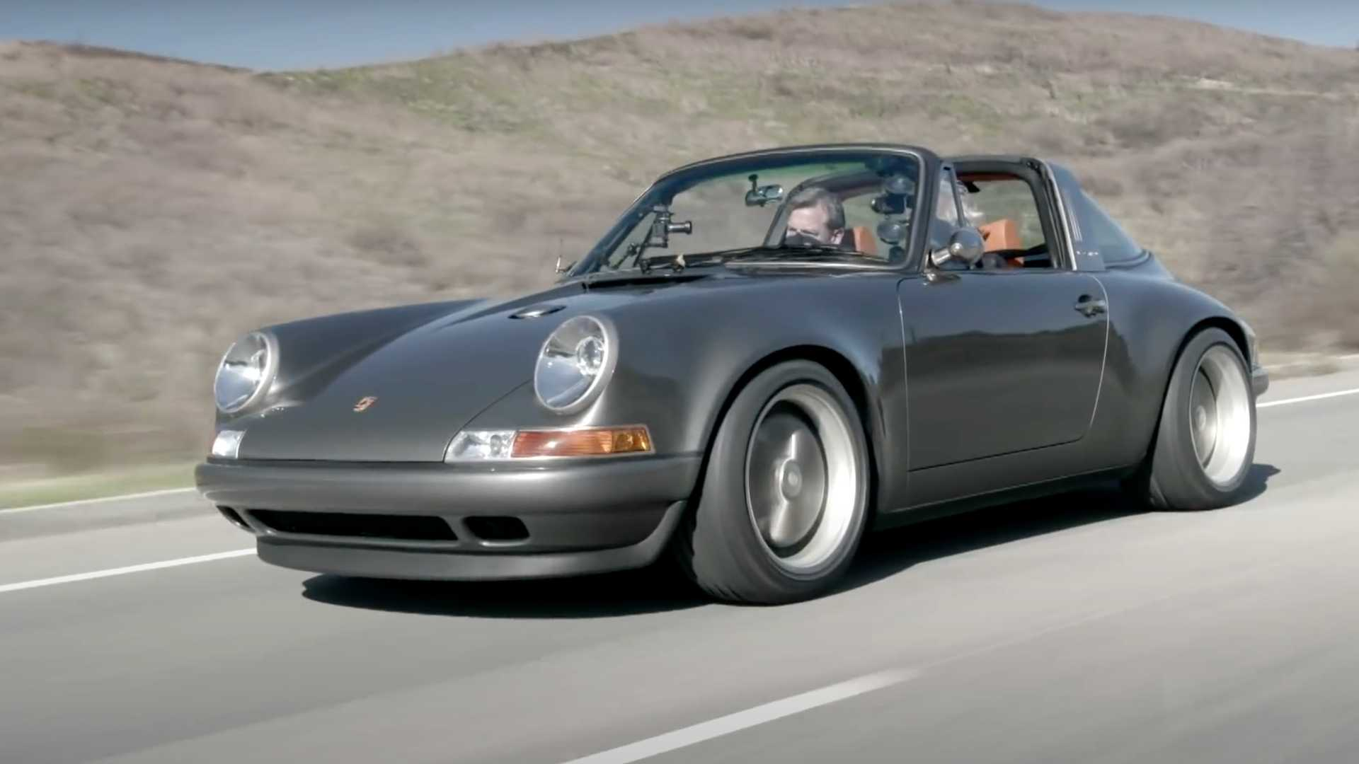 Jay Leno Explains Why The Singer Honor Roll Commission Is Porsche Targa Excellence