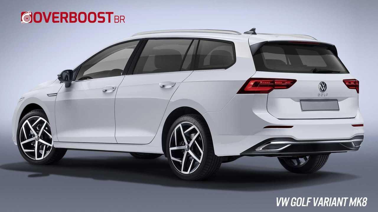 Projeção - VW Golf Variant MK8