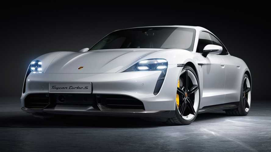 Porsche Taycan Turbo S 2021 - destaque