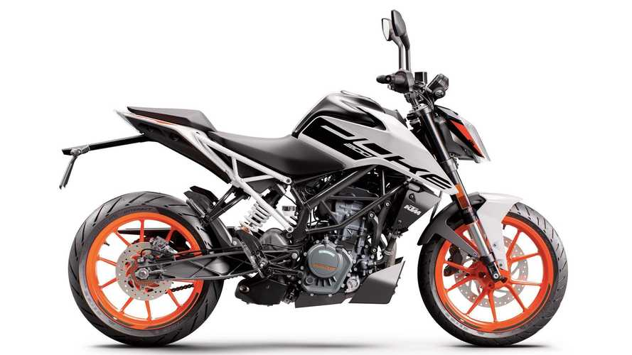 New 2020 KTM 200 Duke Officially Added To The U.S. Lineup