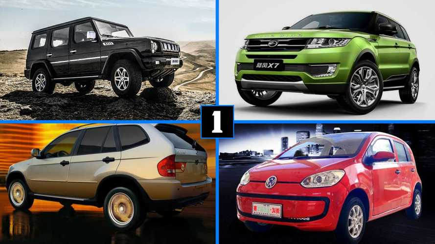 The Clone Wars: 12 Chinese Copies Of Popular Cars
