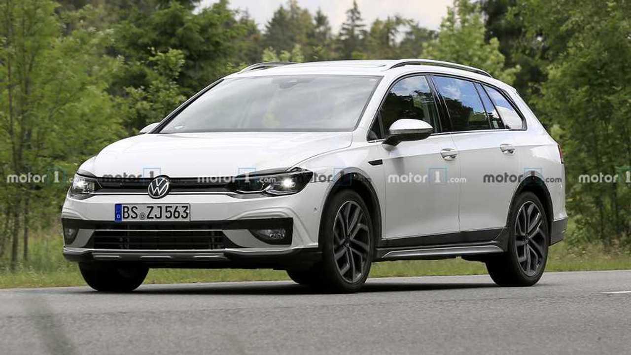 2021 VW Golf Alltrack spia foto