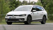 VW Golf 8 Alltrack (2021) erstmals erwischt