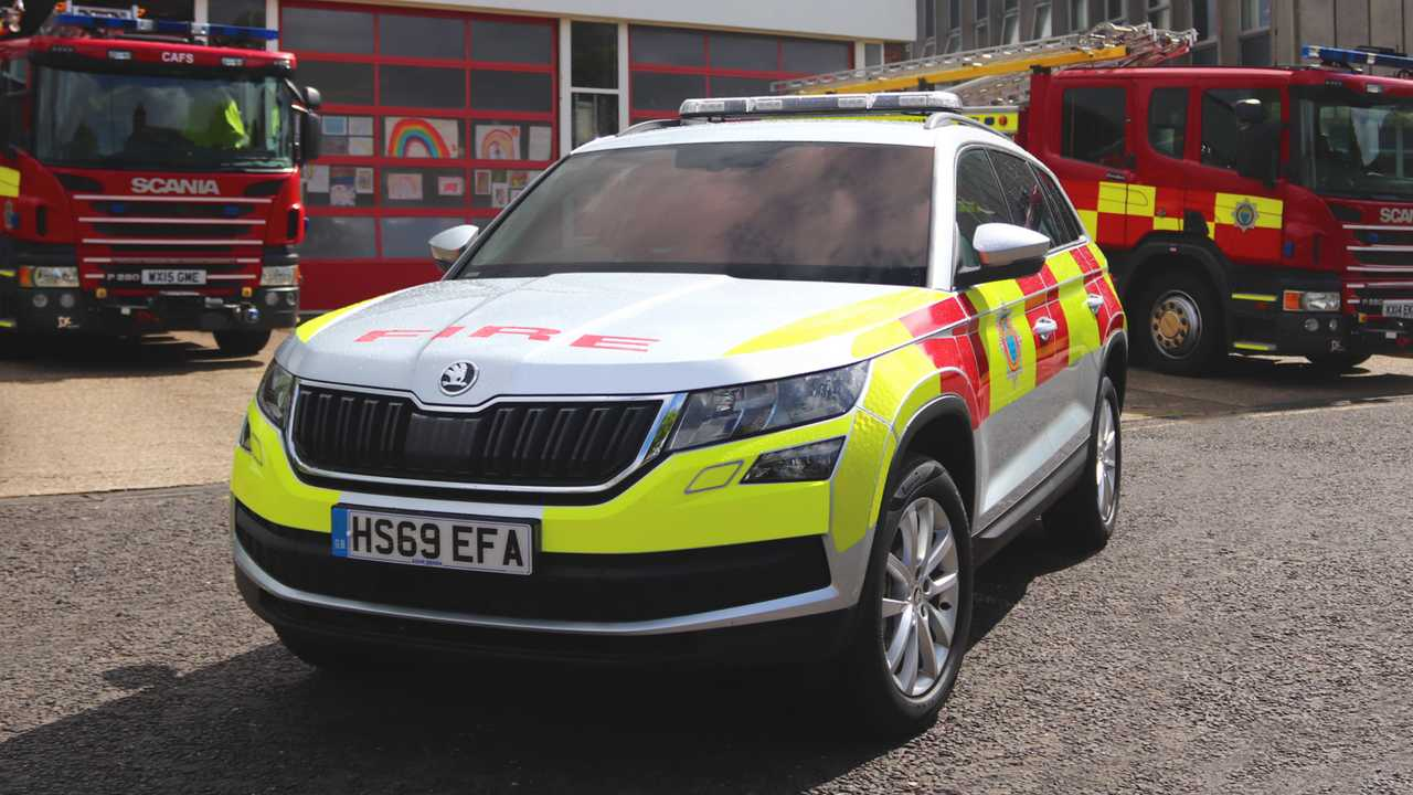 Skoda Kodiaq West Sussex Fire and Rescue