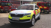 Skoda Kodiaq SUVs join West Sussex Fire and Rescue Service