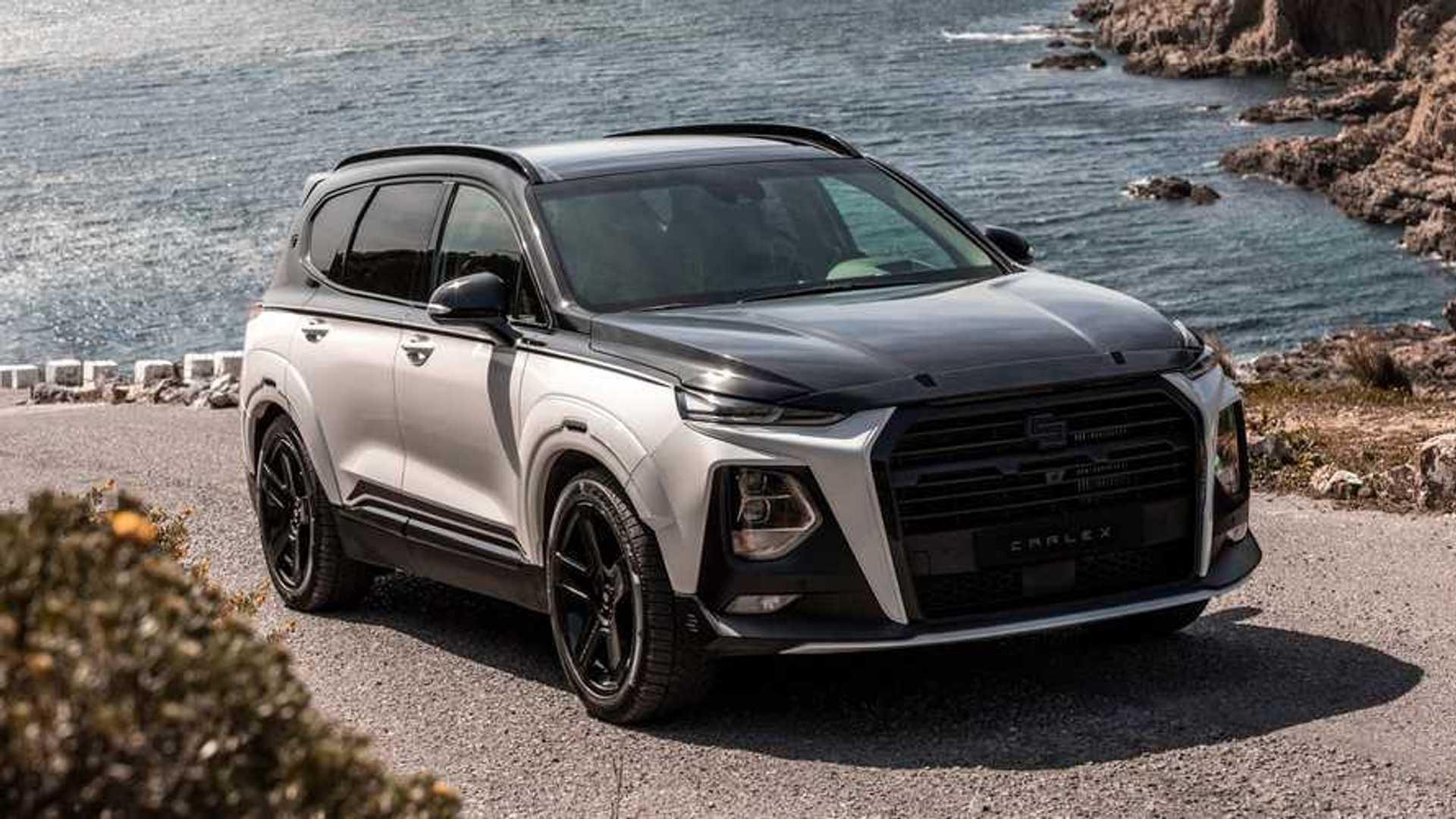 Hyundai Santa Fe Gets Radical Makeover From Carlex Design
