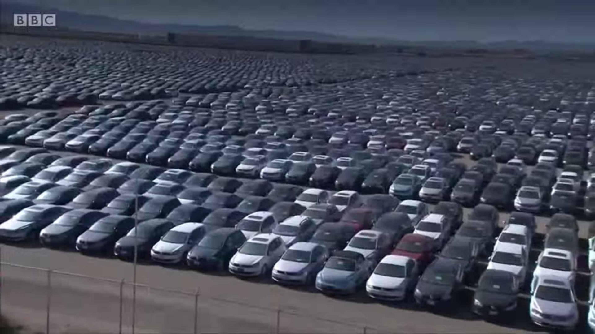 Vw Buyback Program >> Aerial Footage Shows Vw S Massive Diesel Vehicle Graveyard