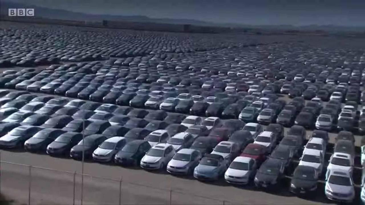 VW Diesel Parking Lot