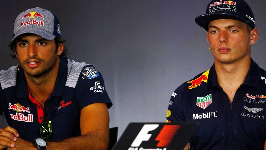 """Sainz: """"Siendo sincero, disfruté mucho como compañero de Verstappen"""""""