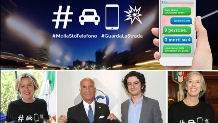 [Copertina] - L'ACI con Francesco Mandelli contro lo smartphone alla guida